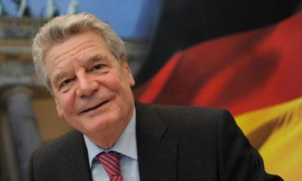 Presidente alemán Joachim Gauck visitará Uruguay