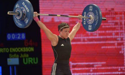 Sofía Enocksson sueco-uruguaya a los Juegos Olímpicos en Halterofilia