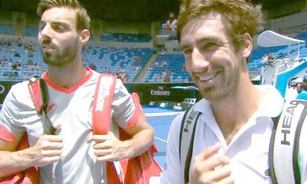 Cuevas se quedó en los octavos de final de Wimbledon junto al español Granollers