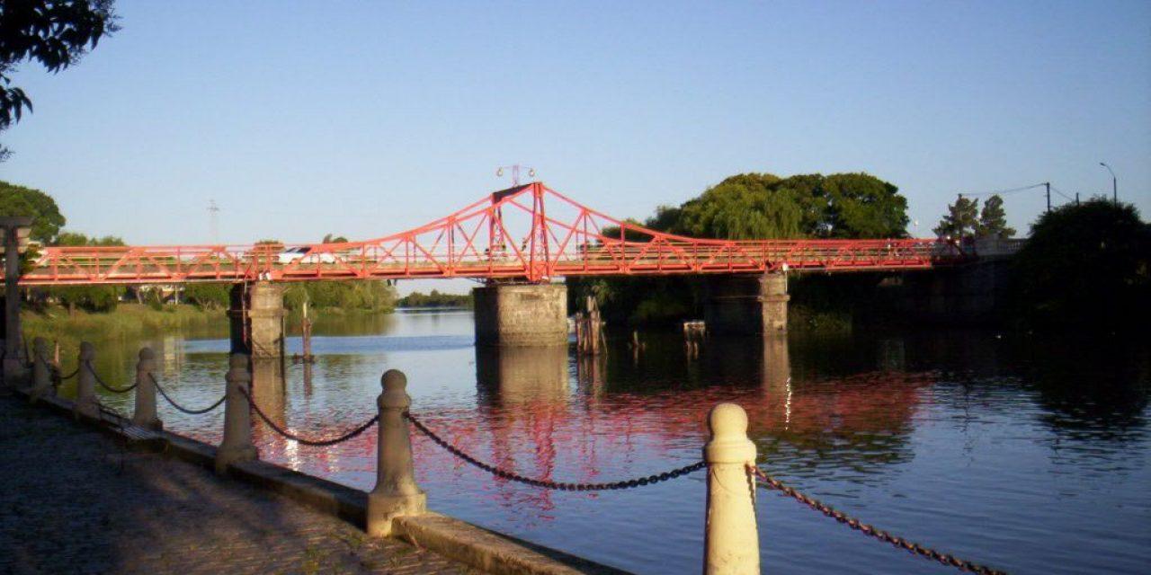 Comienzan los trabajos para reparar puente en Carmelo