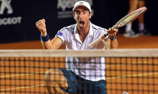 Cuevas volvió a ganar en Montecarlo y se enfrentaría con Wawrinka