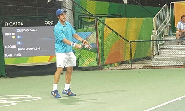 Pablo Cuevas en trabajoso triunfo en el debut y sigue adelante en los Juegos Olímpicos
