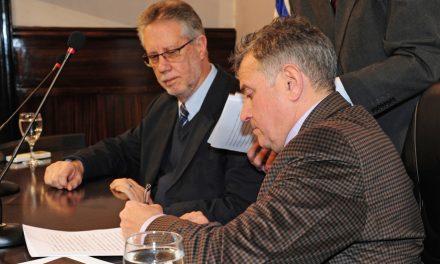 Ministerio del Interior y AUF firmaron el acuerdo por la compra de cámaras