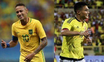 Neymar lleva a Brasil de la mano y derrota a Colombia