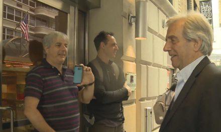 En la previa a su discurso en la ONU, Vázquez se reúna con Temer