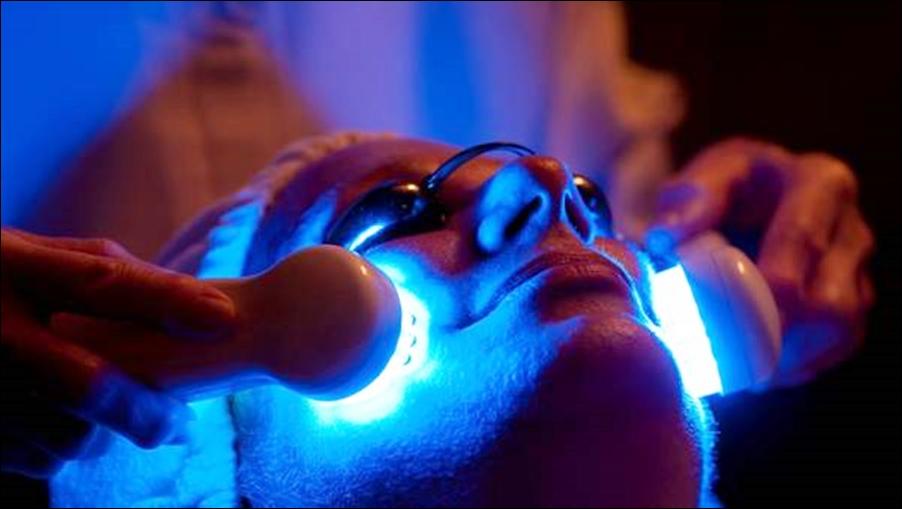 Terapia de luces LED