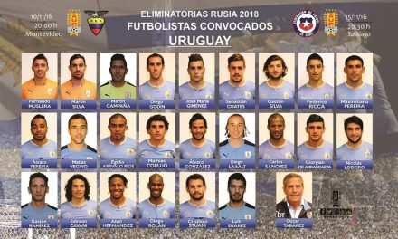 Los convocados de Uruguay para la doble fecha de Eliminatorias