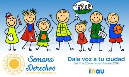 Actividades en Rivera en la Semana de los Derechos de Niños, Niñas y Adolescentes