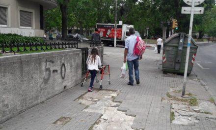 Veredas rotas: un problema latente en Montevideo
