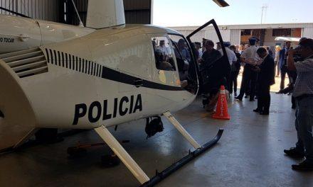 """Nuevos helicópteros de la policía """"tienen lo que se ve en las películas"""""""