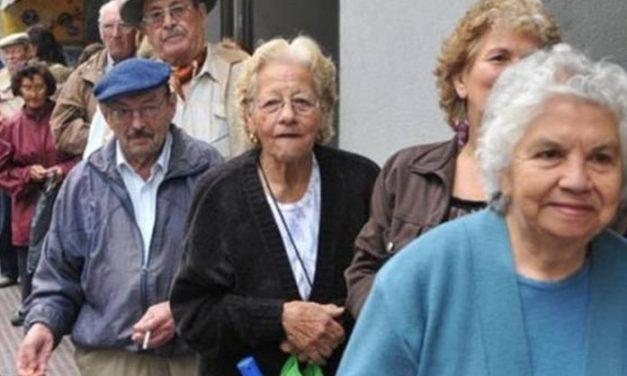 """""""Brindis del Pan y el Agua"""" por parte de jubilados y pensionistas"""