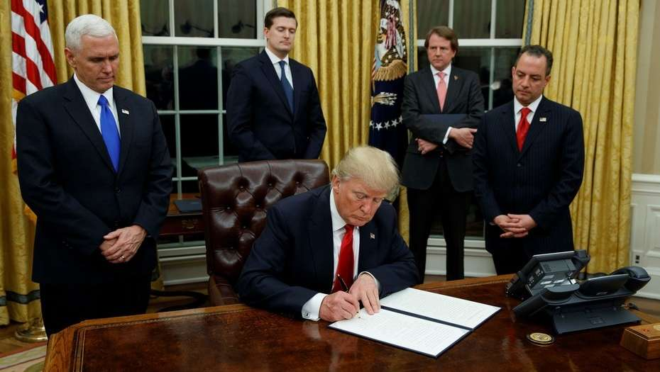 "Trump pactó con México un ""increíble"" acuerdo comercial"
