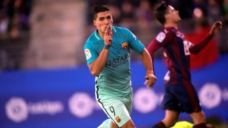 MSN el código del gol de Barcelona