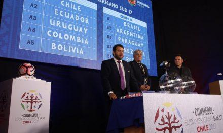 Se sorteó el fixture del Sudamericano Sub 17 de Fútbol