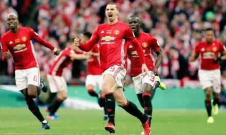 Zlatan puso en llamas Wembley