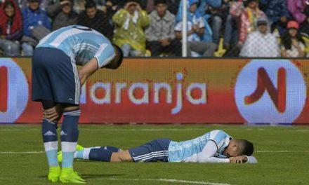 Sin Messi Argentina perdió en Bolivia