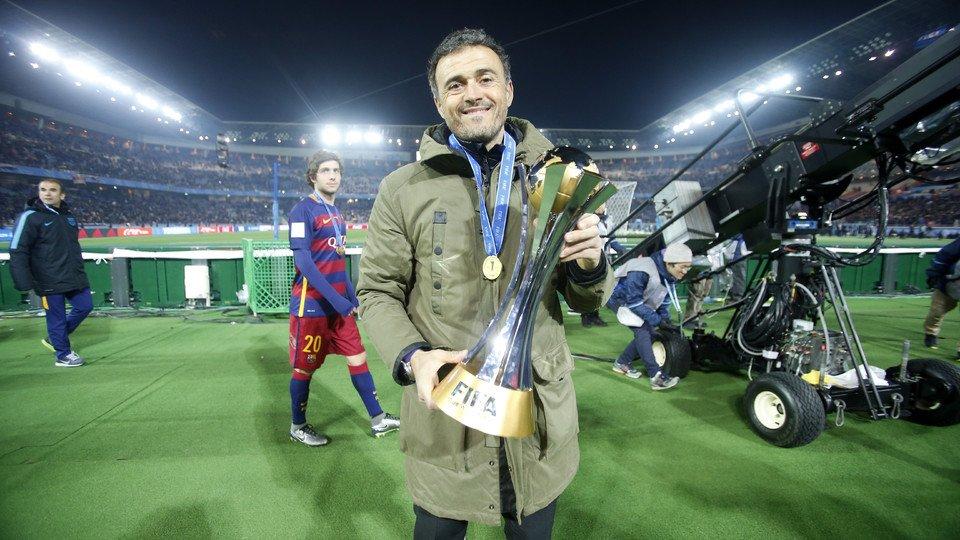 Luis Enrique abandona el Barcelona