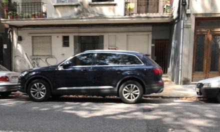Los autos de alta gama incautados a Sanabria