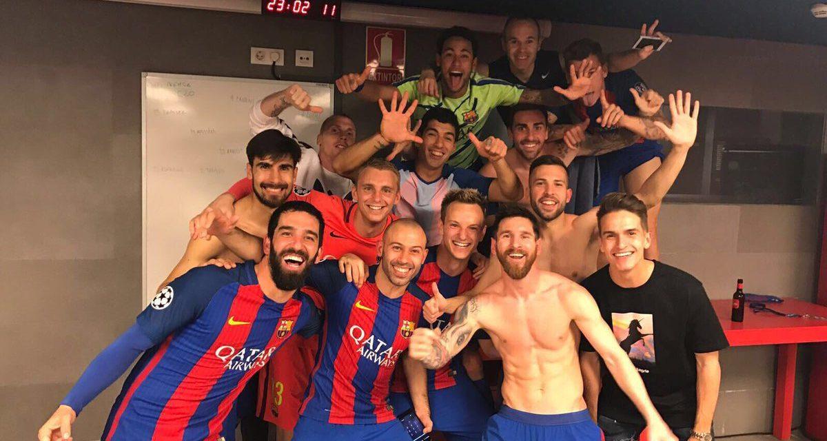 Para el infarto: Barcelona goleó al Paris Saint Germain y clasificó