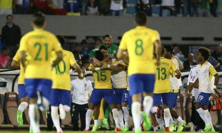 Brasil demostró su nivel y aplastó a Uruguay