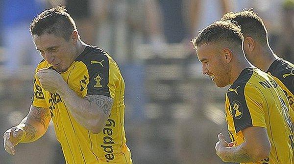 Cebolla Rodriguez volvió al gol