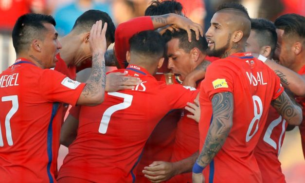 Chile ganó y sube en la tabla