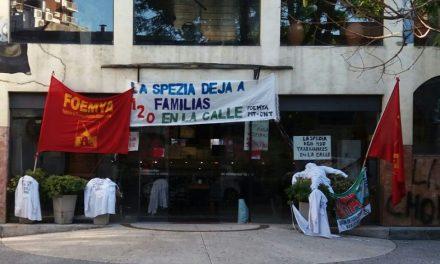 Trabajadores de La Spezia ocuparon local central en reclamo de pagos adeudados