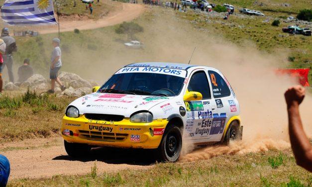 Patricia Pita del Rally Argentino al la competencia en Tala