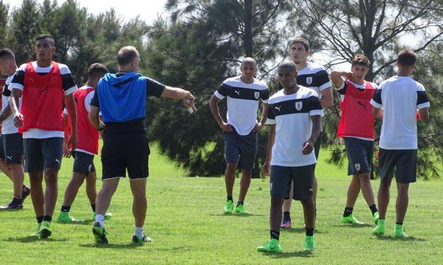 La Selección Sub 20 volvió al trabajo rumbo a India