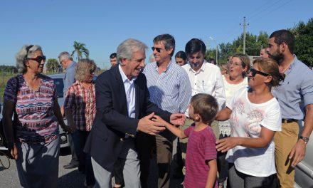 Vázquez aseguró que para el 15 de abril estarán prontas todas las casas de Dolores