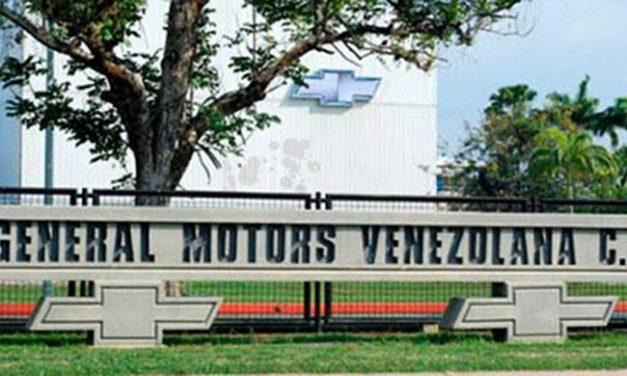 Venezuela embargó la planta de General Motors