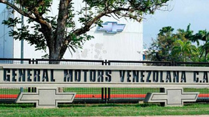 Venezuela embargó la planta de General Motors