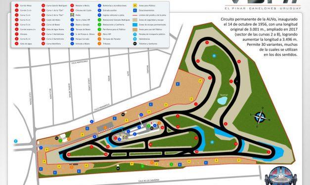La próxima competencia en El Pinar será en el circuito 2