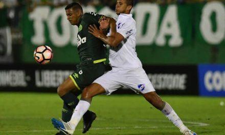 Nacional empató con Chapecoense y está segundo en el grupo