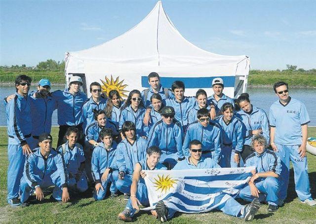 Canotaje uruguayo con varias medallas sudamericanas en la columna de Rodrigo Beira
