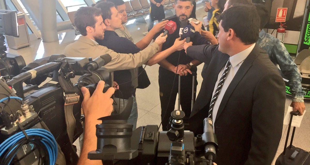 Peñarol sin misterios partió para enfrentar a Palmeiras