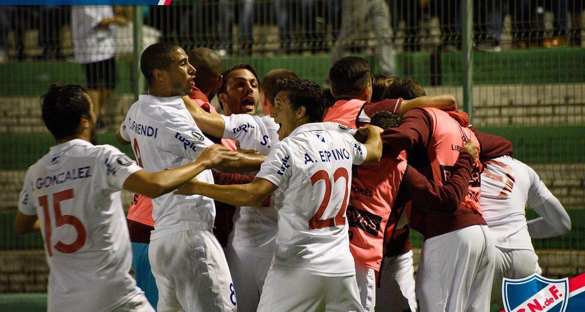 El empate de Nacional ante Chapecoense por Hugo Silveira