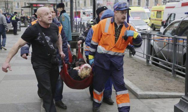 Al menos 11 muertos en ataque terrorista en San Petersburgo