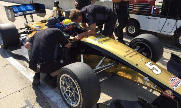 Santiago Urrutia vuelve a competir este fin de semana en IndyLights