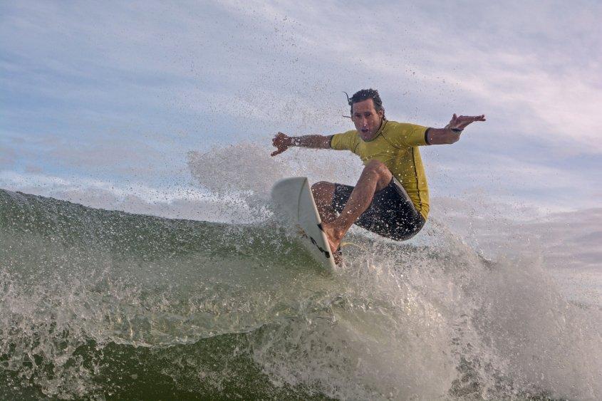 """Luis María Iturria: """"Estaría bueno que el Comité Olímpico Uruguayo reconozca al Surf"""""""