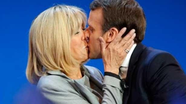 Pedetti descubrió los gustos personales de la esposa del Presidente de Francia