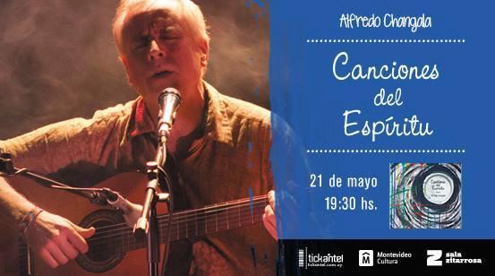 Alfredo Changala presenta su nuevo disco en la Sala Zitarrosa