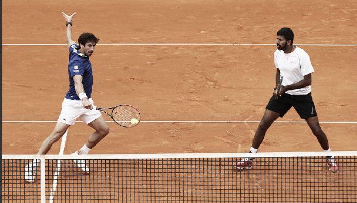 Cuevas y Boppana siguen adelante en el Masters 1000 de Roma