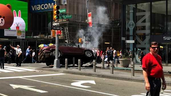 No fue terrorista el atropellamiento en Times Square