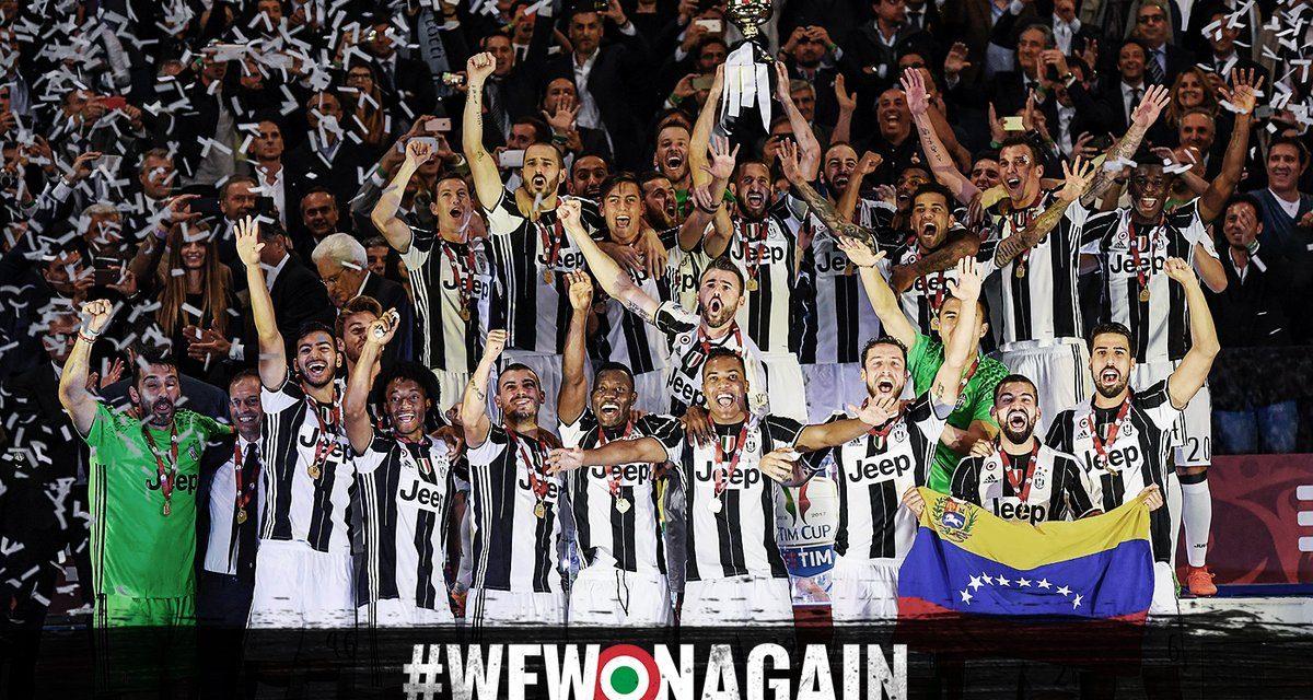 Juventus ganó la Copa de Italia y va por la triple corona