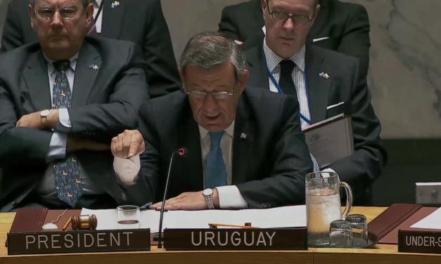 Nin Novoa criticó a miembros permanentes de ONU por comercio de armas