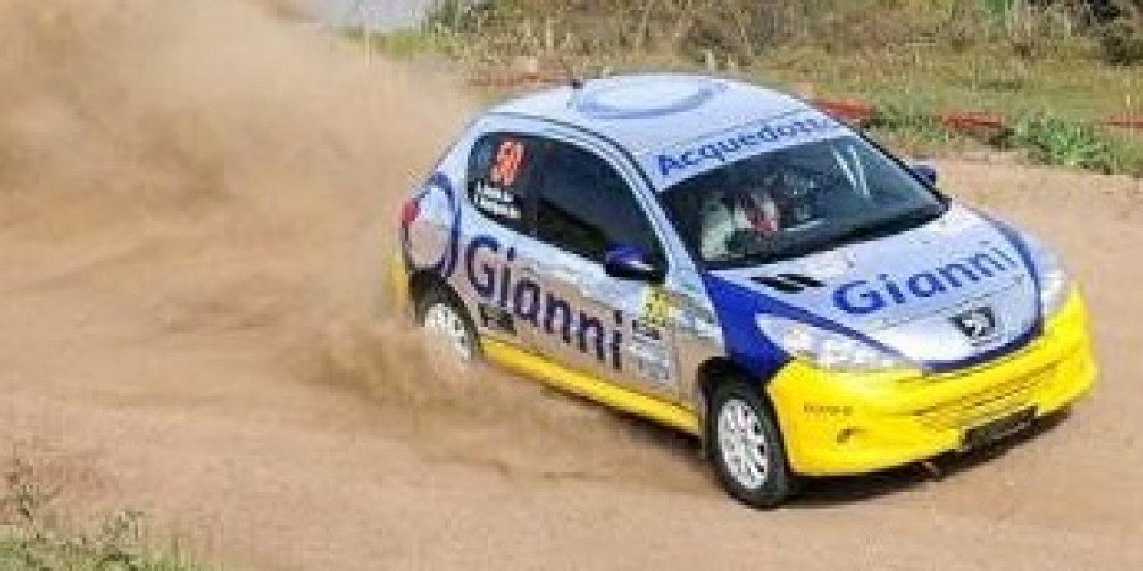 Uruguayos en el Rally de Brasil