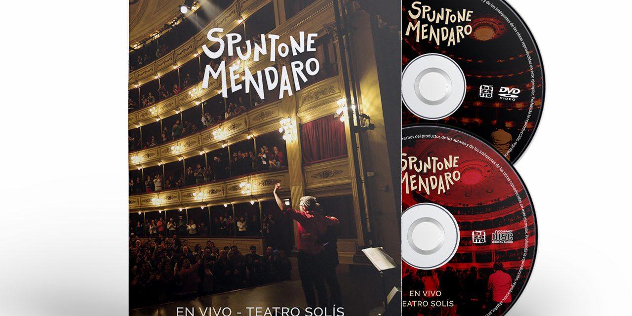 """Spuntone y Mendaro presentan """"SOL"""" nuevo single y video de su tercer álbum grabado en el Teatro Solís."""