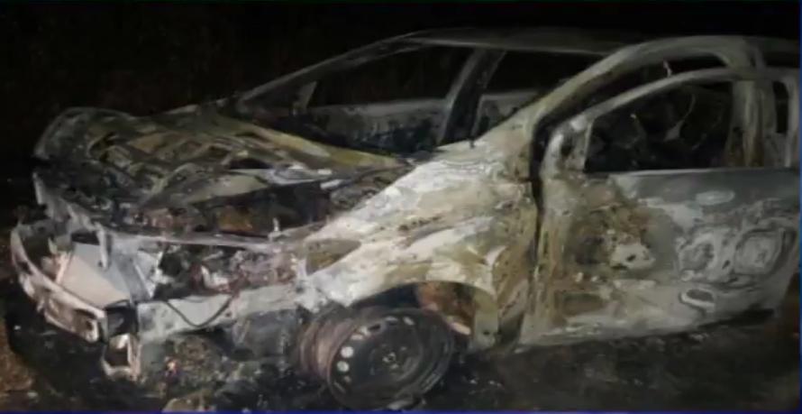 Esperan pericias para determinar cómo murieron personas en auto incendiado