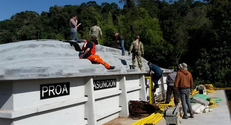 18 Toneladas de Cannabis que iban a Nueva Palmira fueron incautadas en histórico procedimiento